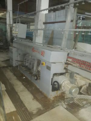 Used Baudin edger flat glass