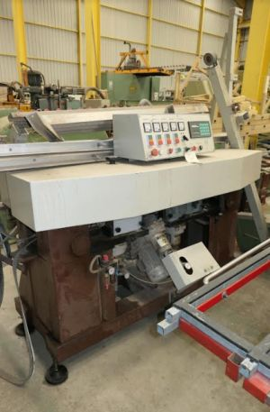 Used glass processing machines