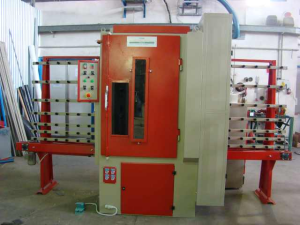 Sandblasting machine, used